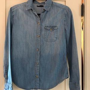 BDG soft denim shirt, women's XS
